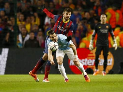 «Барселона» обыграла «Манчестер Сити» в Лиге чемпионов