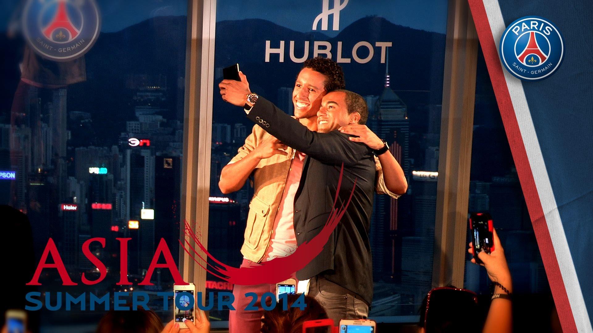 Défilé HUBLOT à Hong Kong pour les Parisiens