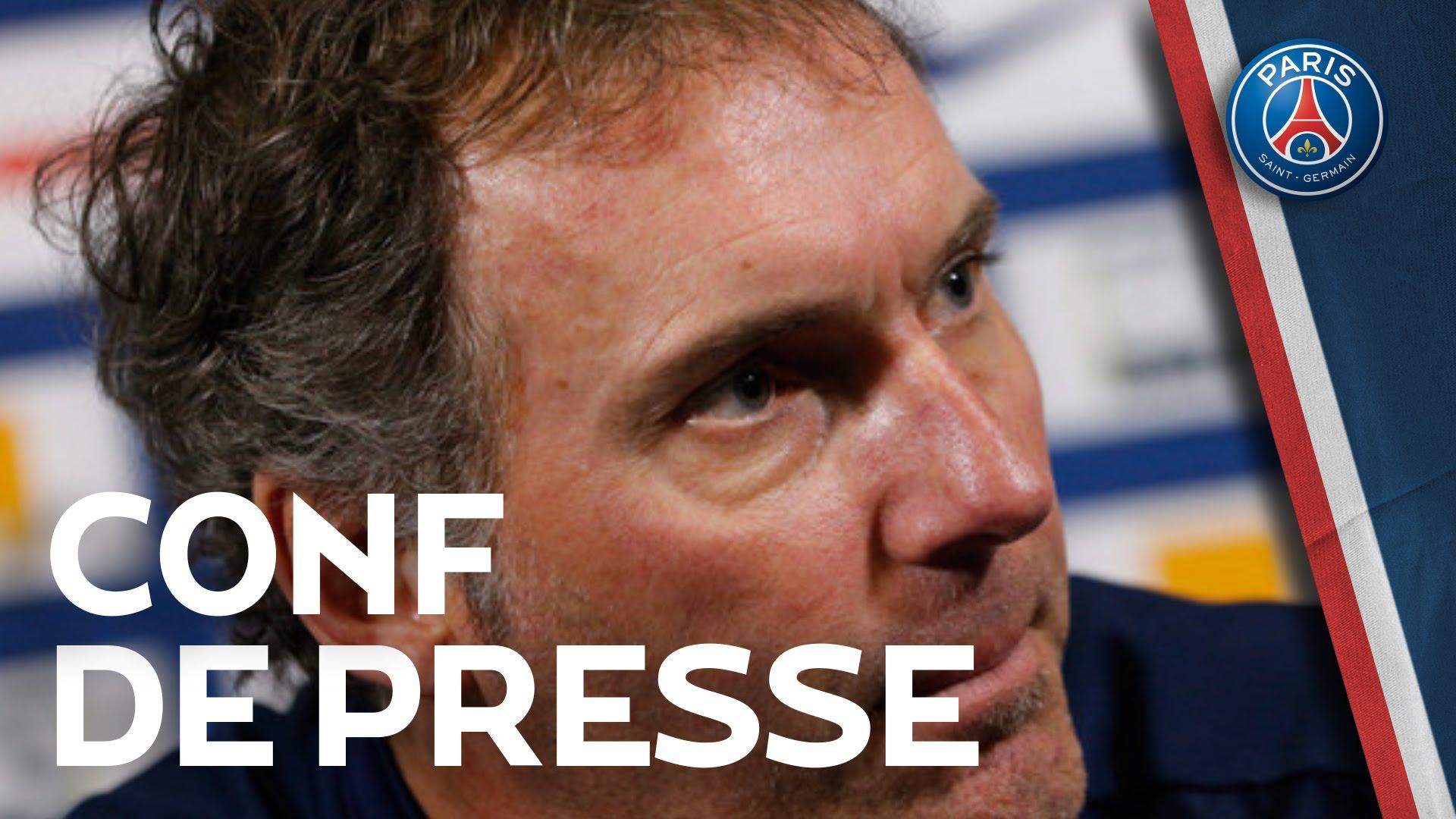 Conférence de presse Laurent Blanc et Lucas
