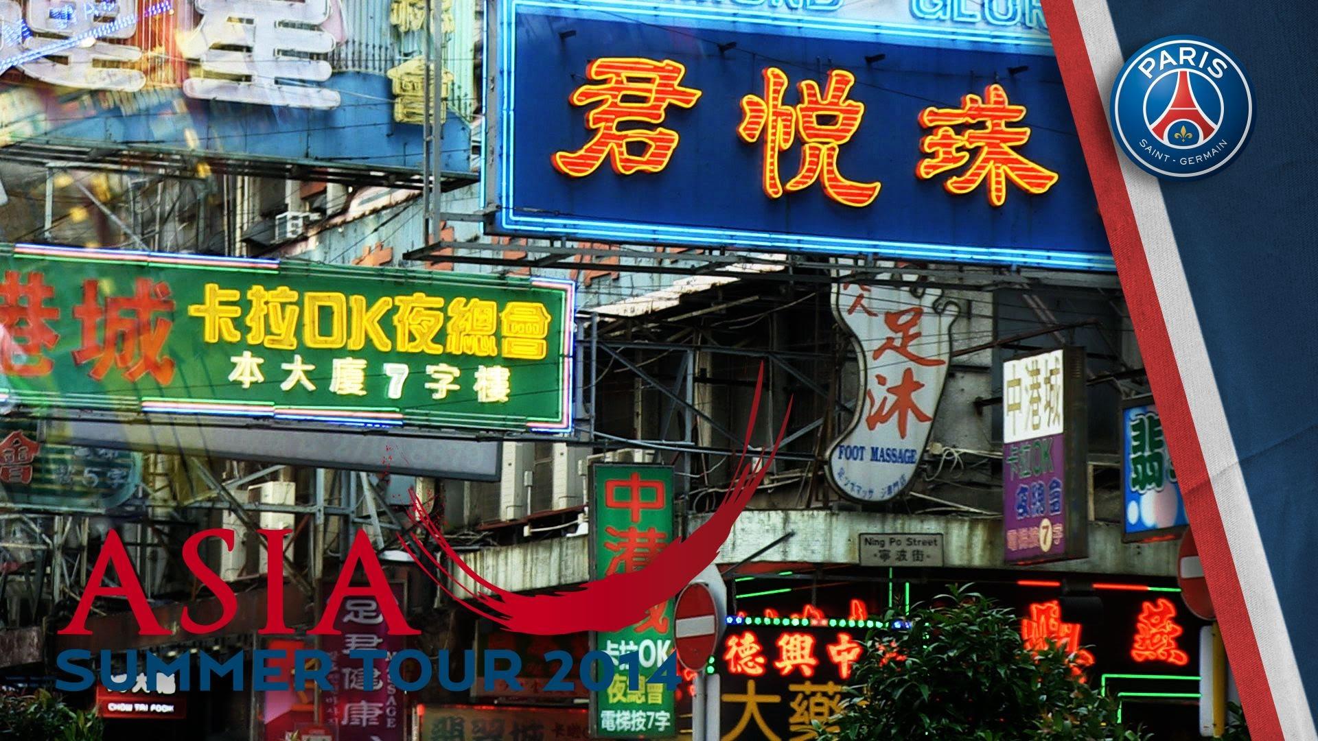 RETOUR SUR ASIA SUMMER TOUR