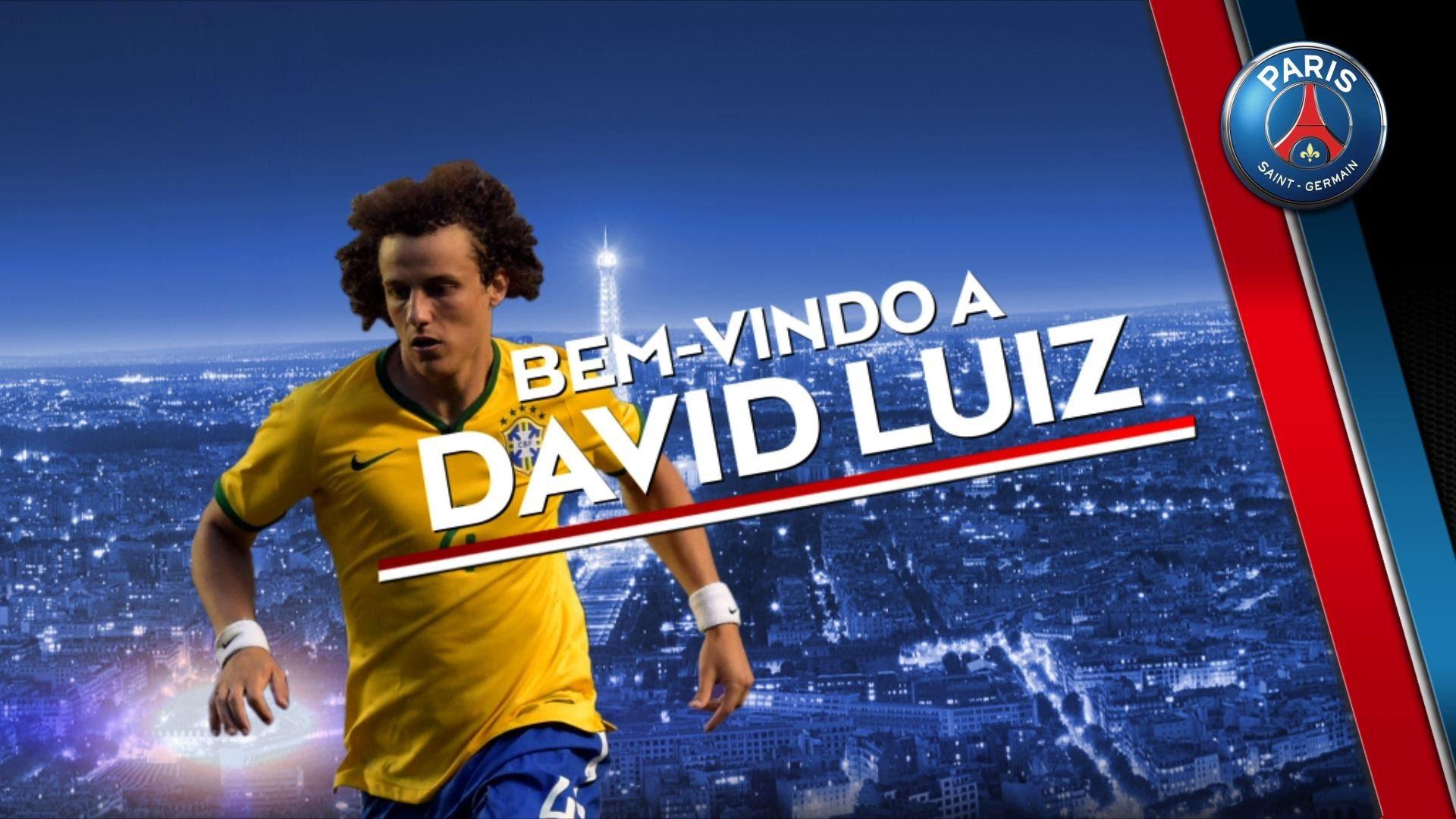Les premiers mots de David Luiz en Français !!!