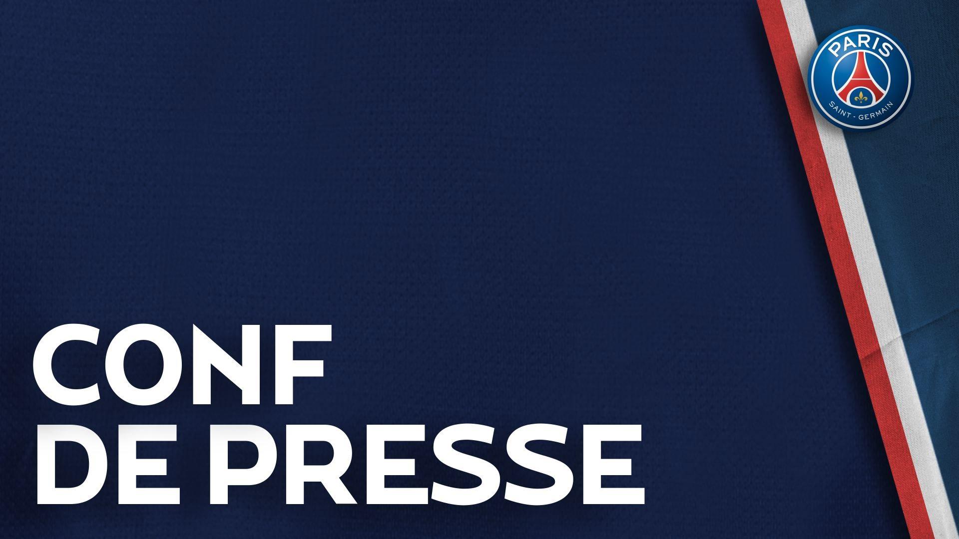 Conférence de presse de Laurent Blanc et de Salvatore Sirigu