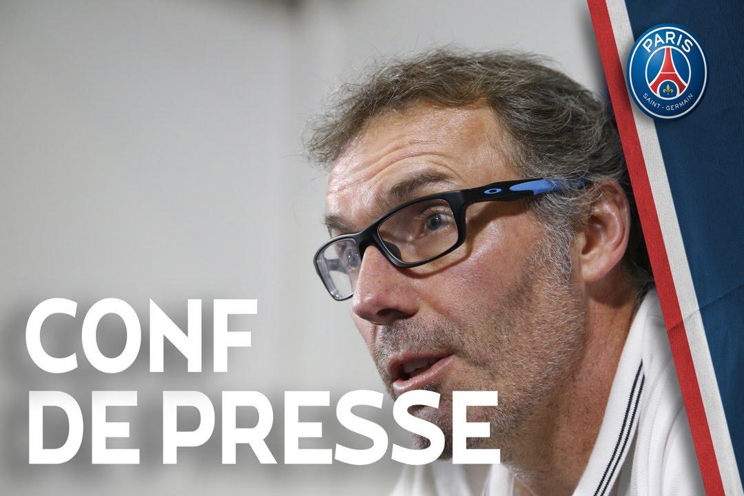 Conférence de presse de Laurent Blanc et Blaise Matuidi