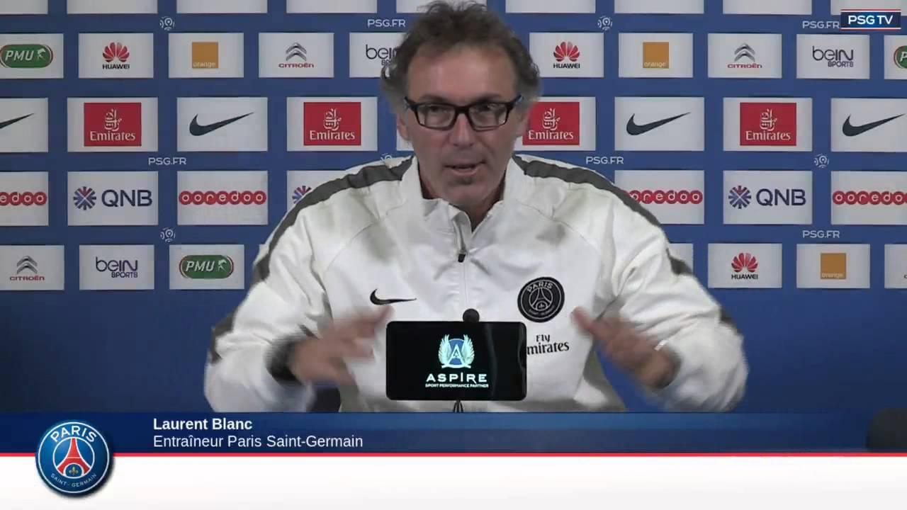 Conférence de Presse Laurent Blanc et Marco Verratti