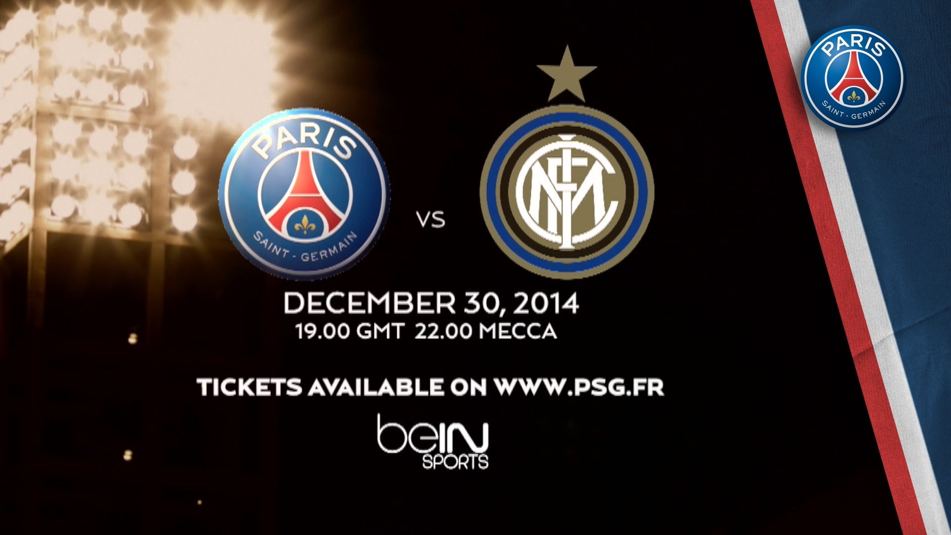 TRAILER PARIS vs INTER MILAN