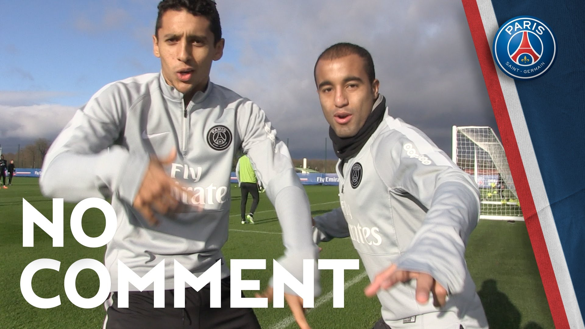 NO COMMENT - Lucas Marquinhos Verratti